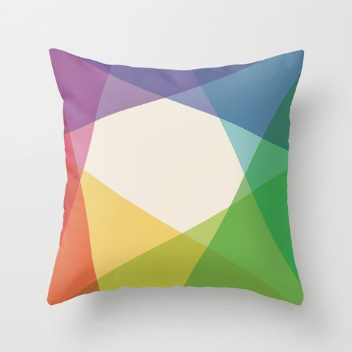 Fig. 004 Throw Pillow by Maps of Imaginary Places