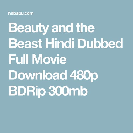 beauty and the beast movie download in hindi 300mb