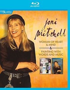 JONI MITCHELL - WOMAN OF HEART + PAINTING WITH WORDS & MUSIC en BLU-RAY - NEUF