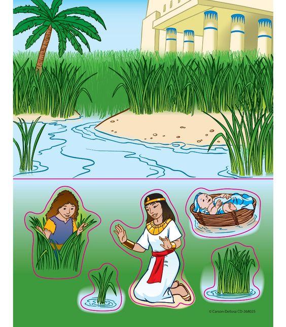 Christian Preschool Winter Crafts | Baby Moses Stickers - Workbooks Teacher Supplies | Carson-Dellosa ...