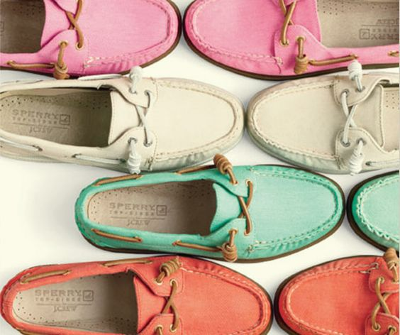 Sperry for J. Crew
