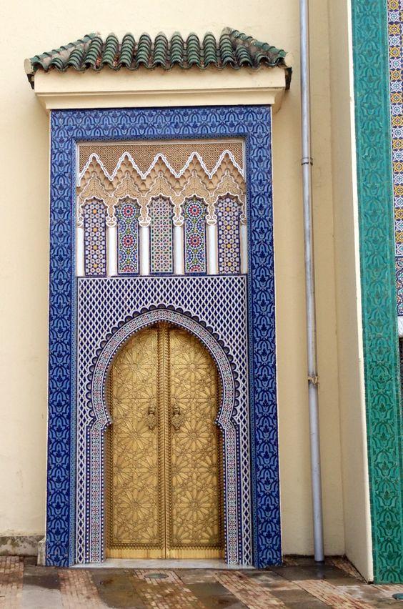 Moroccan Palace door, Fes