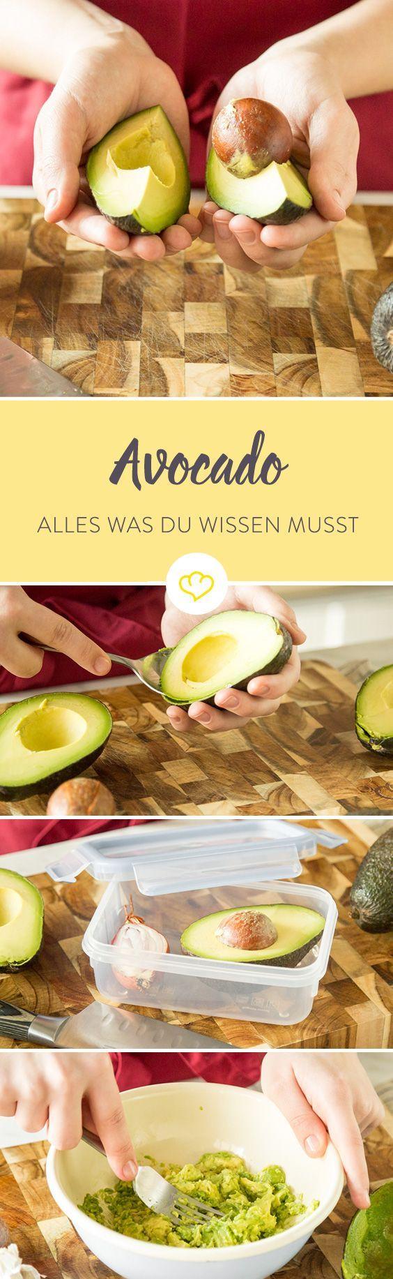 """Grün, cremig und gesund – so kennst du sie, die Avocado, die """"Mutter aller Superfoods"""". Doch was steckt wirklich unter ihrer dunklen Schale und warum genau ist sie überhaupt so gesund? Sind wir zu Recht alle Avocado-verrückt?"""