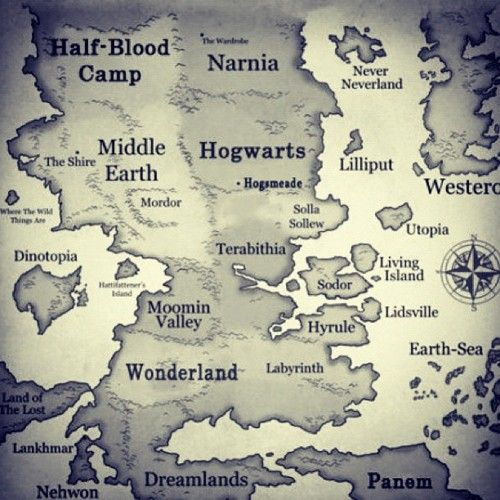 if only..: Fantasy Map, Books Worth Reading, Favorite Place, World Maps, Fantasy World Map, Fantasyworldmap, Harry Potter, Middle Earth, Half Blood