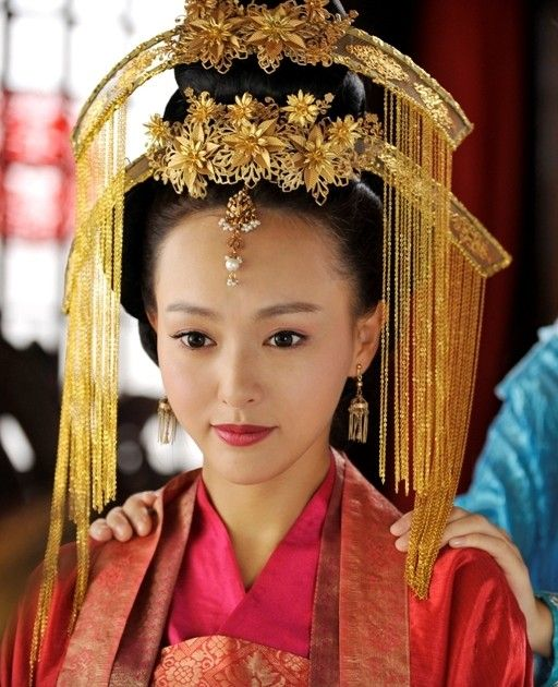 ancient chinese wedding hair accessories complete set for