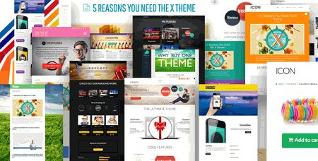 downlaod x- the ultimate wordpress theme v1.7.0 for free