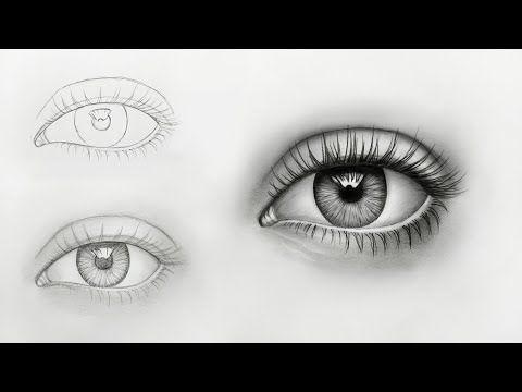 Tutorial Cara Menggambar Mata 3d Realist Dengan Menggunakan Pensil Youtube Tutorial Menggambar Mata Menggambar Mata Cara Menggambar