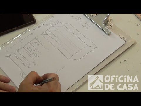 Projeto – Como definir o desenho e as medidas – Oficina de Casa