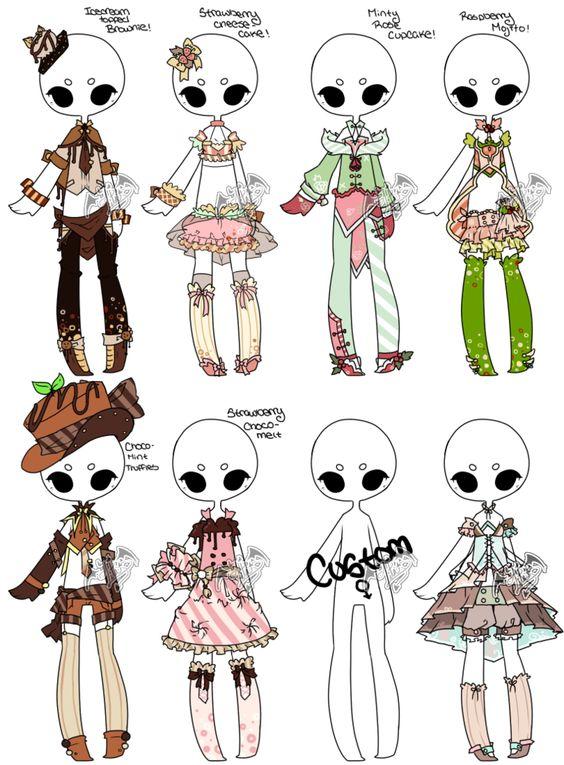 how to draw chibi dress