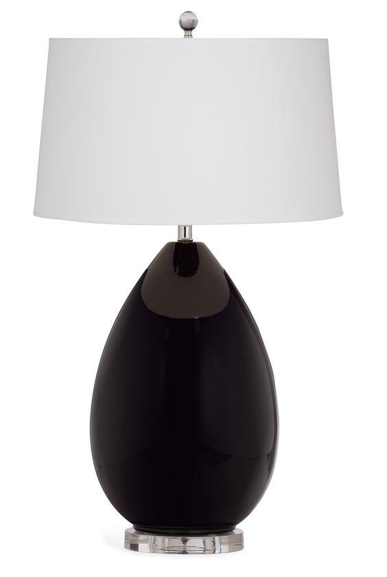 Bassett Mirror Dalton Table Lamp [L2958TEC]