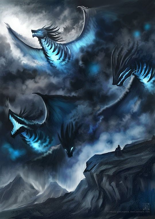 Creative Fantasy Illustrations by uniqueLegend | Cruzine