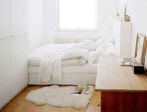 kleine slaapkamer interieur inrichting studentenkamer