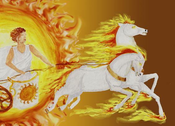 Helios the Sun God