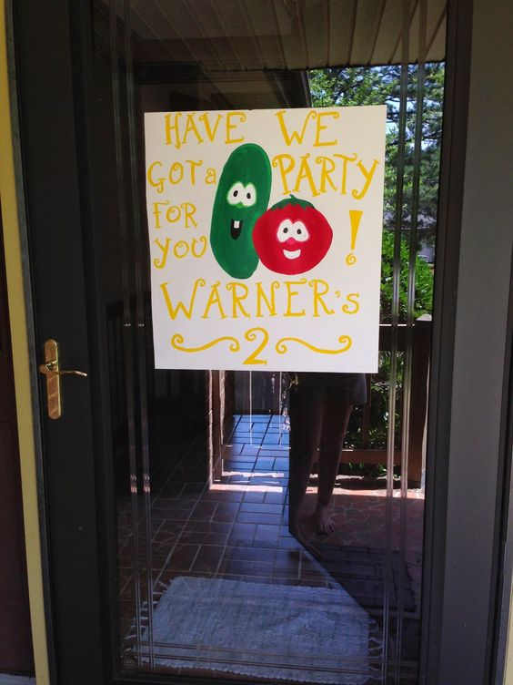 Keeping Up With The Joneses: Have We Got a Party for You, Warner's 2 | Veggie…