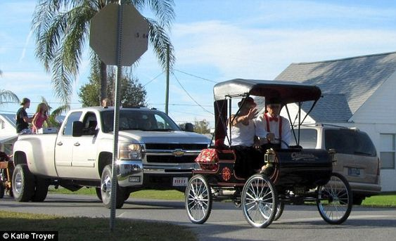 Getting around:AmishBuggies like this one are a common sighting in Pinecraft