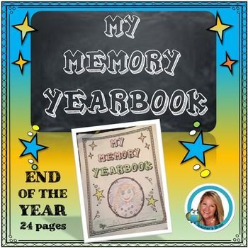 Memory End of the Year Yearbook for ElementaryThis is a great way to end they school year and have students reflect on their learning.  Have students spend a week or two on writing and drawing memories/highlights about themselves and the school year.  These make great keepsakes for parents.