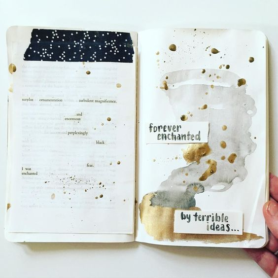 Art journal by mama_finch on Instagram: