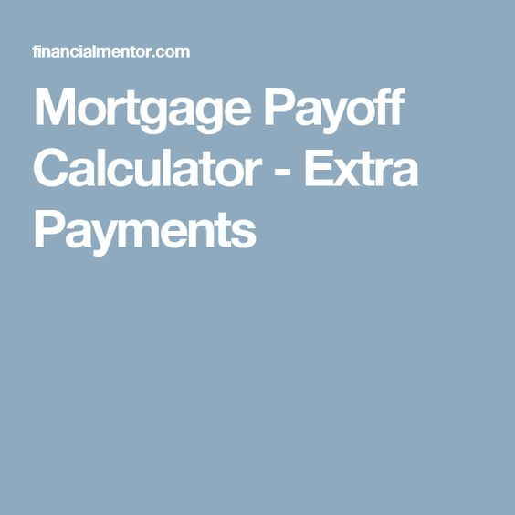 Early Payoff Calculator Vanderbilt Mortgage And Finance Inc