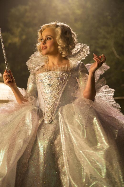 Die gute Fee, gespielt von Helena Bonham Carter.