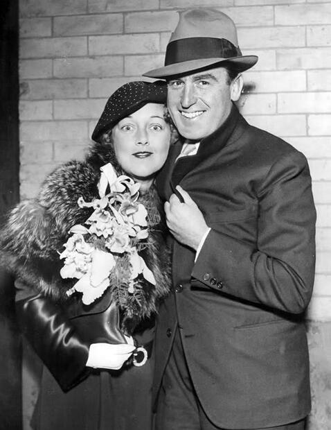 Mildred Davis & Harold Lloyd 1934
