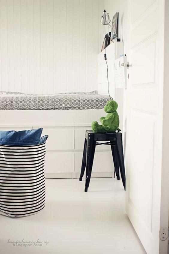 Malm sengeborde som opbevaring under seng   blogger beatehemsborg ...