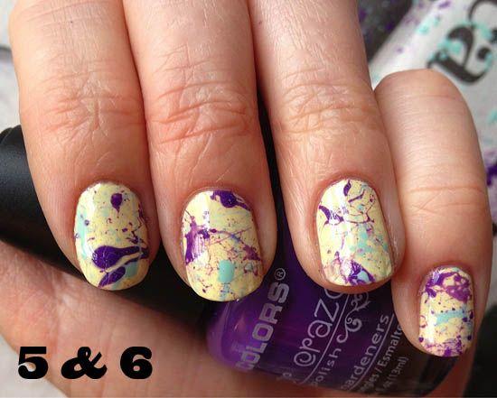 nails.: Splatter Paint Nails, Nailart Multicolored, Nails Nails, Paint Splatter, Splatter Nails, Nail Design, Nail Art