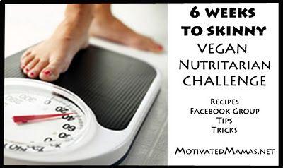 Nutritarian challenge. Interesting!!: