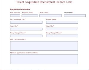 recruitment planner template at word-documents.com | Microsoft ...