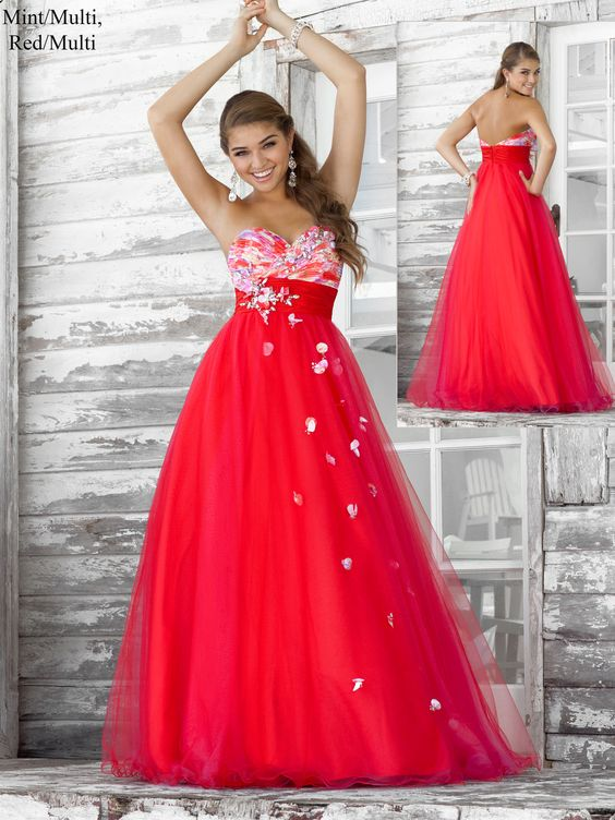 Red dress size 0 figure