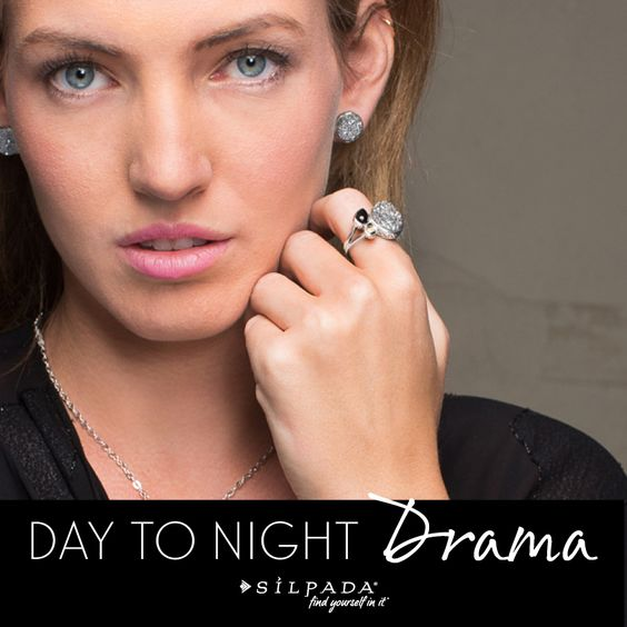 Glisten up with #Silpada #druzy! Click to see day and night looks.: Jewelry Designs, Silpadadesigns Sunday, Shop Mysilpada, Silpada Jewelry, Silpada Blog, Blog Silpadastyle, Jewelry Rings, Silpada Druzy