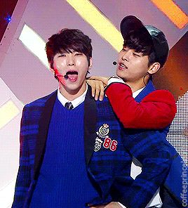 My two favorite men right here (of VIXX I mean)