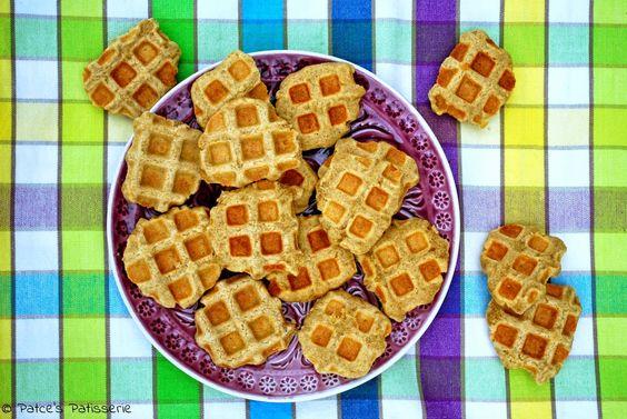 Patce's Patisserie: Waffelkekse. Ja, Kekse aus dem Waffeleisen!