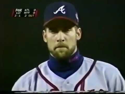 1996 World Series Game 1 Atlanta Braves New York Yankees Youtube In 2020 Atlanta Braves Braves New York Yankees