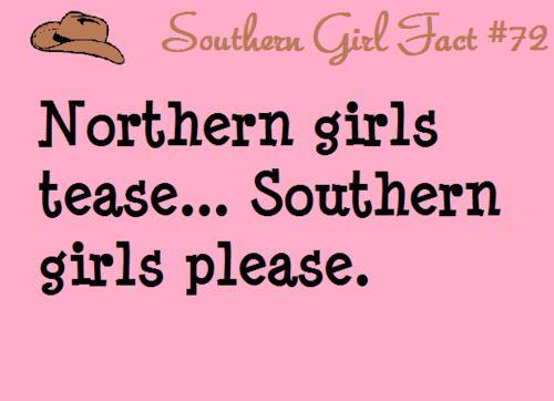 southern girl fact #72