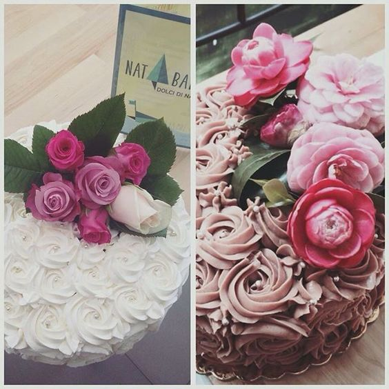 Torte NAT  #natbakery #cake #flowers #bakery #foodporn #aversa #napoli #americanfood #biologico #natural