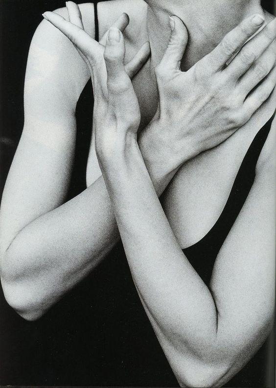 Georgia O'Keeffe Hand by Alfred Stieglitz