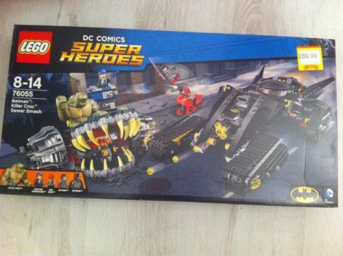 LEGO 76055 Super Heroes Batman Killer Croc Sewer Smash Construction Set https://t.co/qiAHer4H9v https://t.co/ofBuGWBAgy