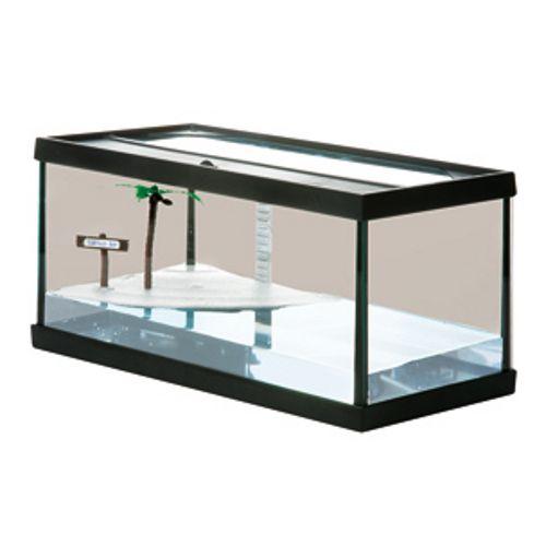 Aquarium avec île et filtre inclus pour les #tortues Turtles Bay à 65€55 sur www.TiendAnimal.fr