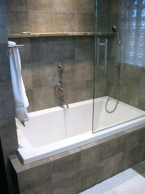 Tub Shower Combos For Small Bathrooms Guest Bathroom Remodel Tub Shower Combo So We With Bathroom Tub Shower Combo Guest Bathroom Remodel Bathtub Shower Combo