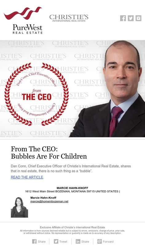 From the CEO Bubbles are for Children Marcie Hahn-Knoff REALTOR - ceo description