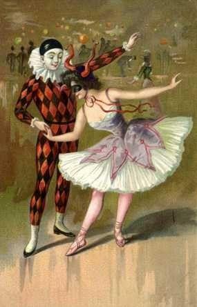 Vintage Mardi Gras.: