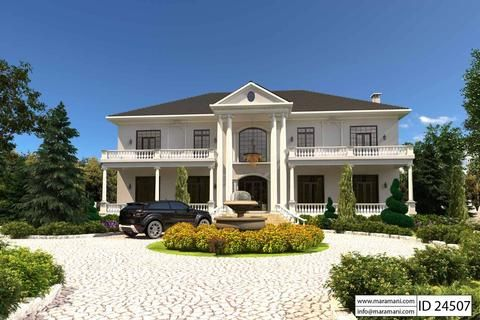4 Bedroom House Plan Id 24507 Bedroom House Plans Contemporary House Plans Double Storey House Plans