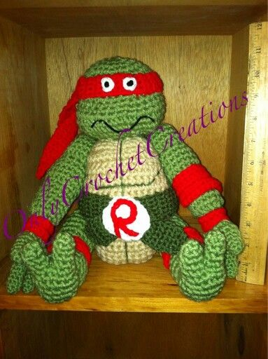 Olaf Amigurumi Crochet Pattern : Teenage Mutant Ninja Turtles, stuffed animal, crochet, toy ...