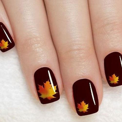 45 Thanksgiving Fall Nail Color Ideas 2020 Guide Thanksgiving Nails Holiday Nails Nail Colors