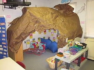 The reading cave in my classroom