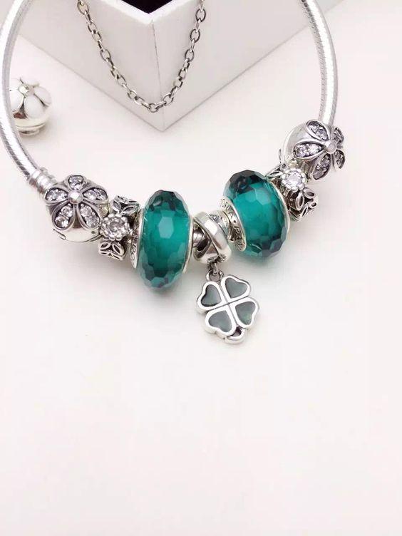 50% Off!!! $199 Pandora Charm Bracelet. Hot Sale!!! Sku: Cb01543