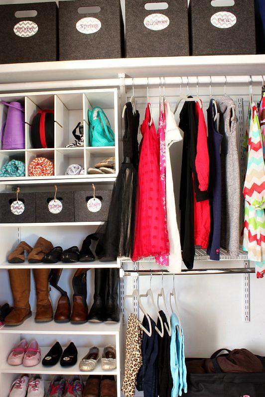 The Smartest Closet Organizer Ideas Smart Closet Best Closet Organization Closet Organization