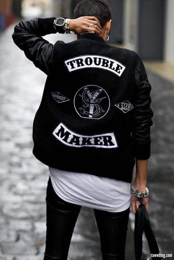 如何帅气地玩转街头风?就是要搭配街头风涂鸦丹宁外套!l丹宁第二弹 l  streetstyle denim fashion