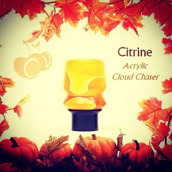Just in time for Halloween - the Citrine #CloudChaser @cherryvape #cherryvapes #cloudchasers #cloudchaserz #cloudchasersinc #driptip #driptips #cherryvapedriptips #driplyfe #drippers #vaper #vapeon #vapers #vapefam #vapelife #vapeporn #vapeshops #vapelyfe #chickswithwicks #girlswhovape #boyswhovape #vaping #vapingcommunity