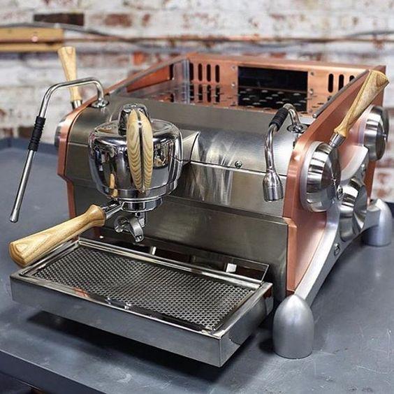 Beautiful Slayer Machine.. // For more coffee inspirations from Japan visit www.kurasu.me